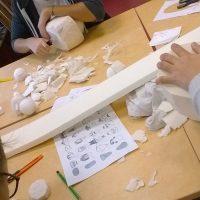 Atelier construction au Lycée Jeanne d'Arc Thonon